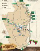 Mapa turístico de Itupeva